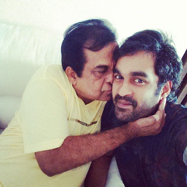 6. with his son Goutham