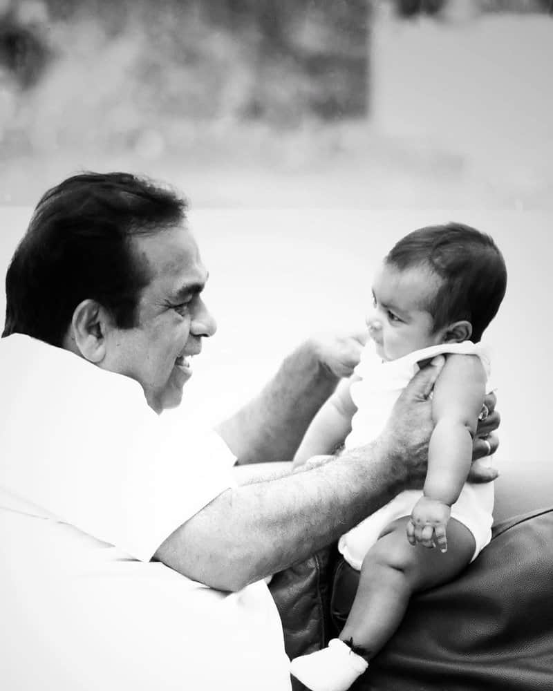 8. with his grandson