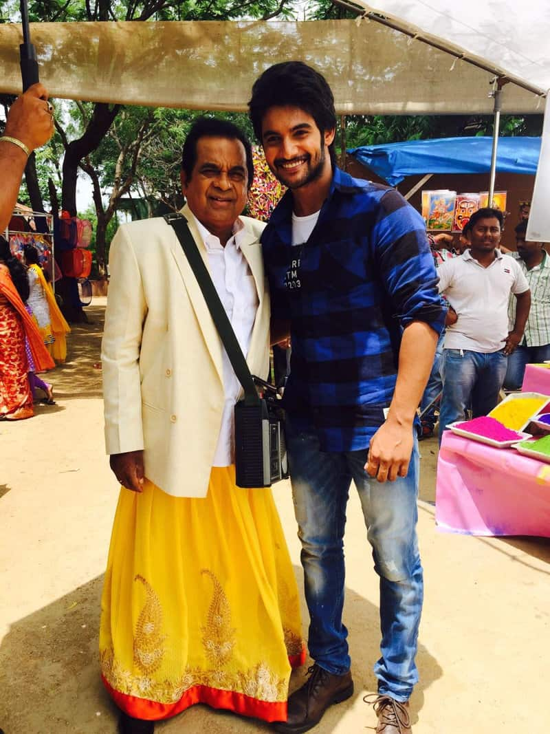 9. with Aadi during shoot