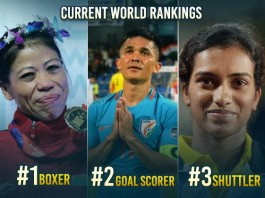 India Are Shining In Sports