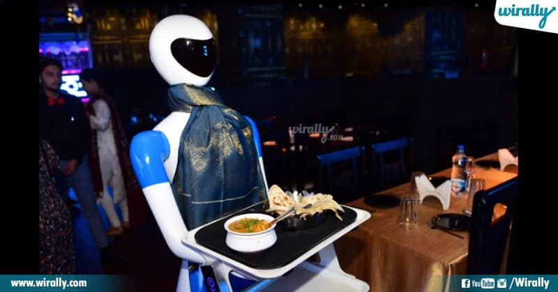 Hyderabad's First Robotic Restaurant