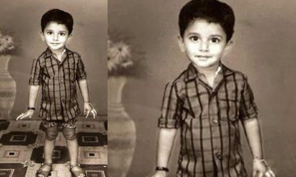 1. Nani rare childhood pic