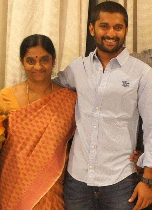 10. Nani with his mother