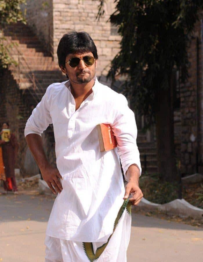 14. Nani random click from Pilla Jamindar movie