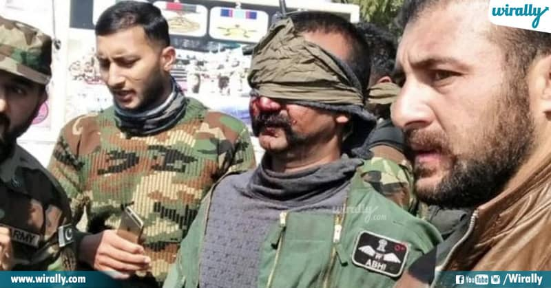 IAF Pilot Abhinandan viral