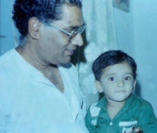 2. Nani with his father Ghanta Rambabu