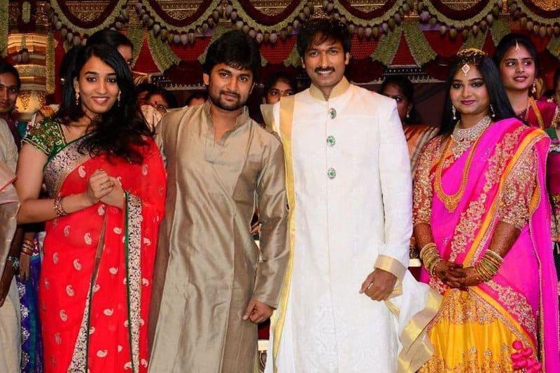 24. Nani and Anjana at Gopichand Wedding