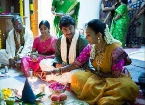 27. Nani and Anjana performing puja
