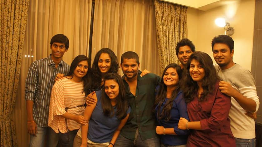 28. Nani and Anjana with close friends