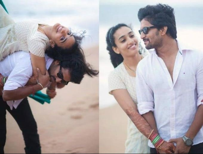 30. Nani and Anjana rare vacation pics