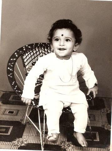 31. Adorable smiling Pic of Nani from his childhood