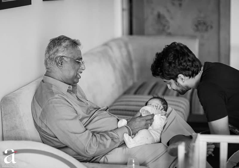 39. Nani special pic with his father and son Arjun