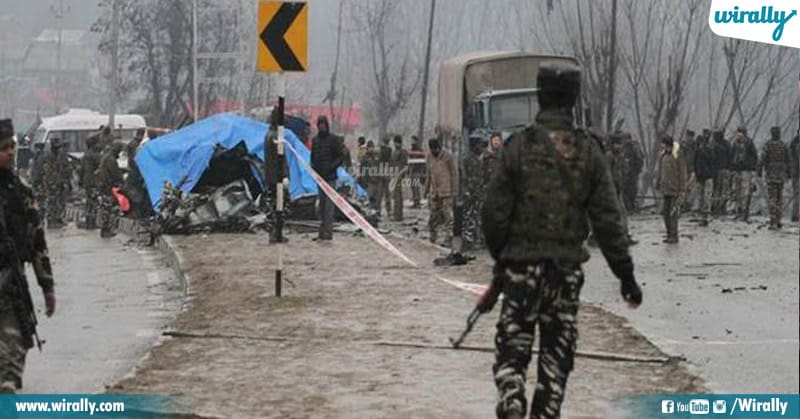 Pulwama Major Attack On CRPF personnel