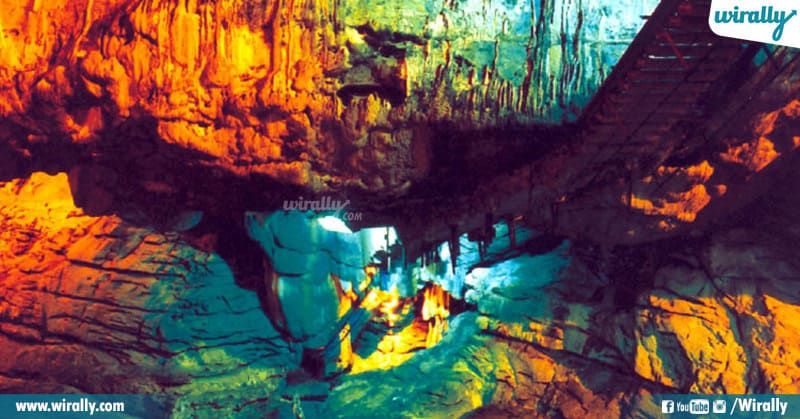 magical world of Borra Caves