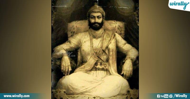 Maratha king chhatrapati shivaji