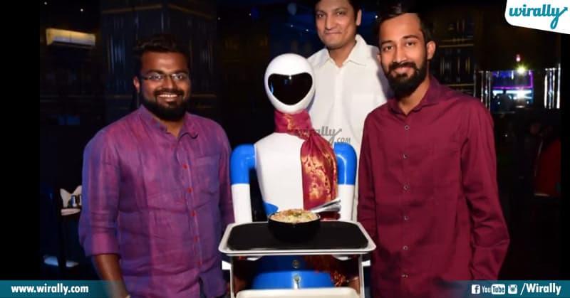 Hyderabad's First Robotic Restaurant