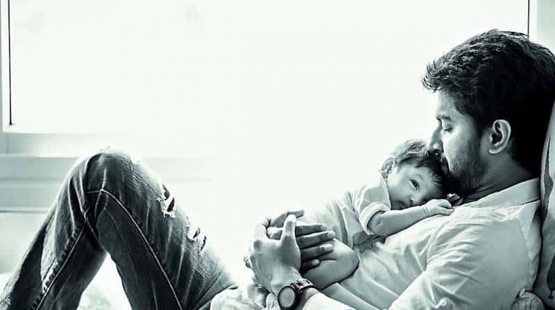 40. Nani introduces his son Arjun