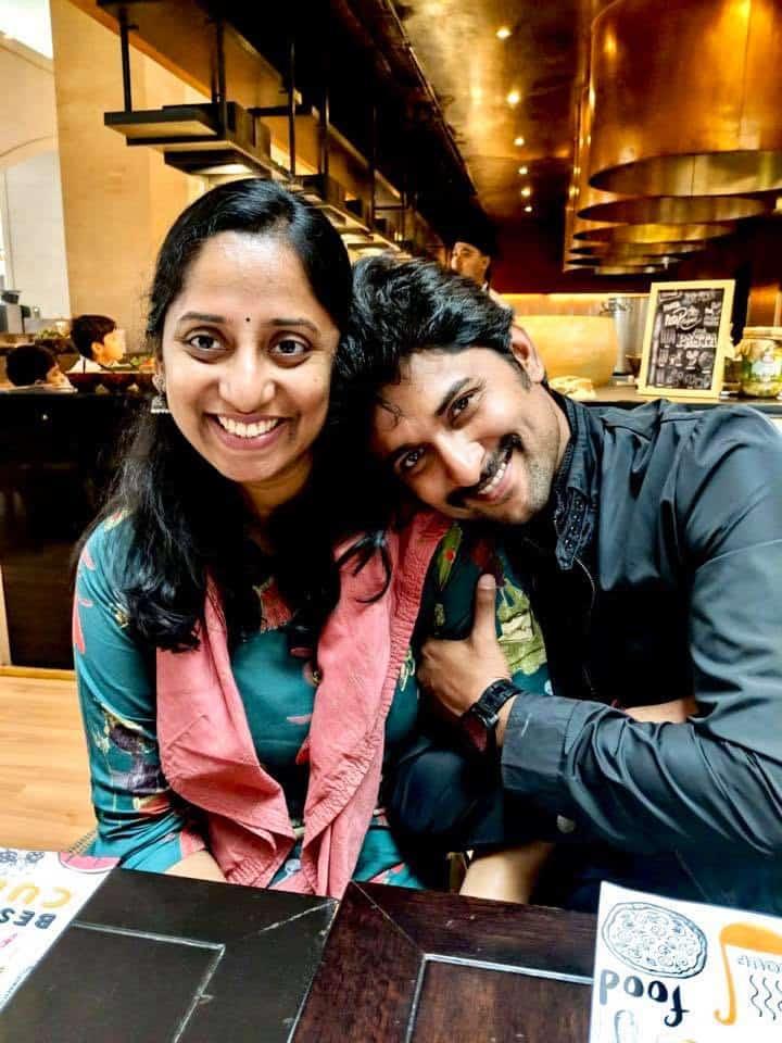 43. Nani with his sister