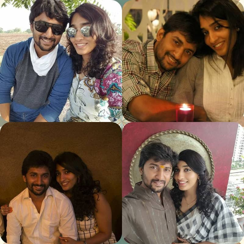 49. Nani and Anajana pics collage
