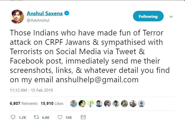 India's Ethical Hacker Anshul Saxena