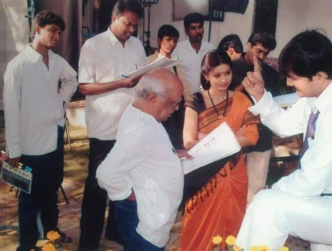5. When Nani worked as Clap Assistant with Bapu garu for Radha Gopalam movie