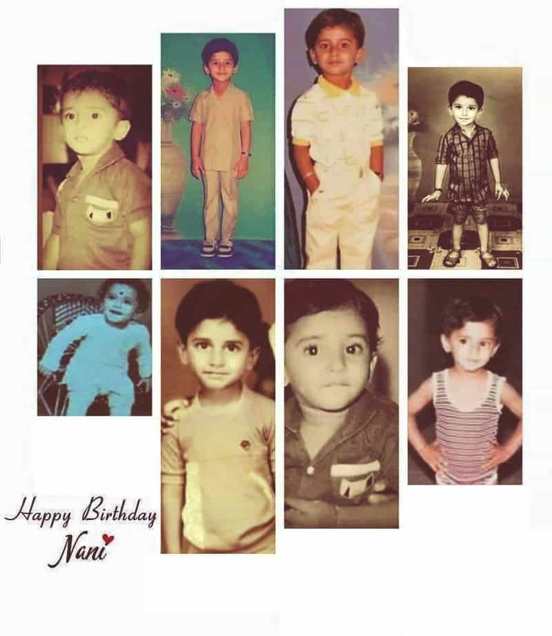 50. Nani's Rare Childhood Pics Collage