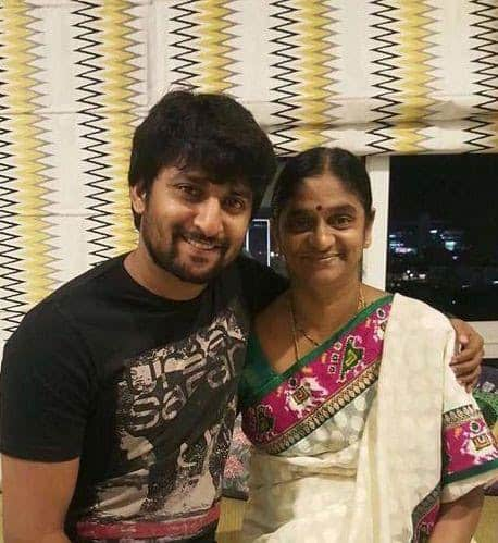 6. Nani with his mother