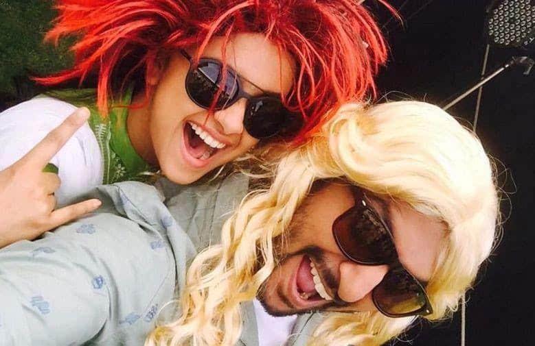 8. Nani and Keerthy Suresh fun selfie