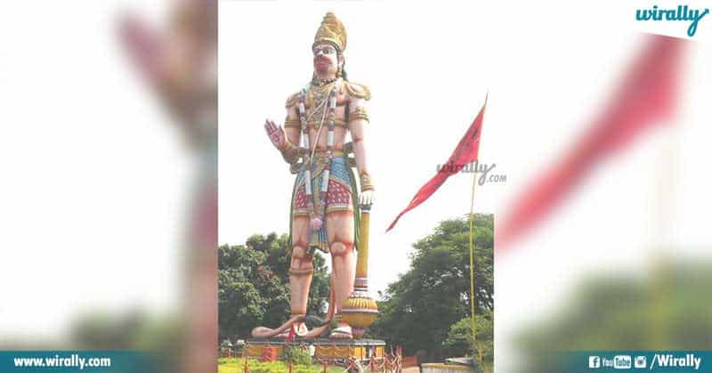 Top 10 tallest Hanuman idol in India