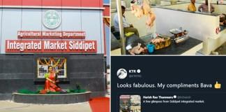Siddipet gets first integrated market