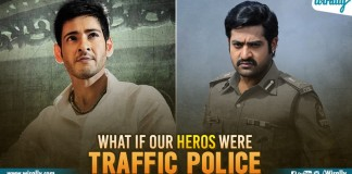 Traffic Police in real life heros