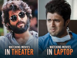 Watching A Movie Theater vs Laptop