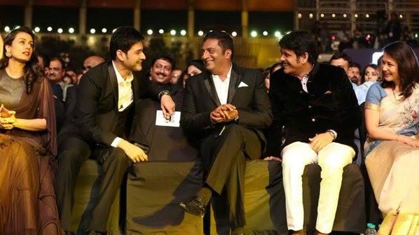 12. Prakash Raj with mahesh & nagarjuna