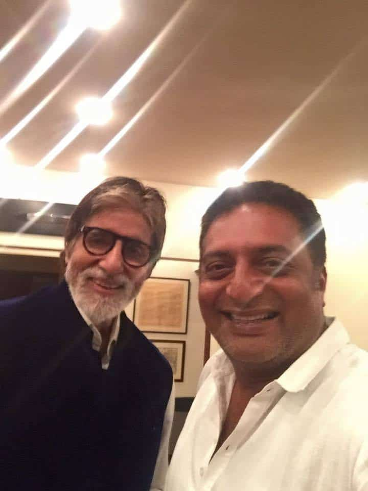 14. Prakash raj with Amitabh Bachchan