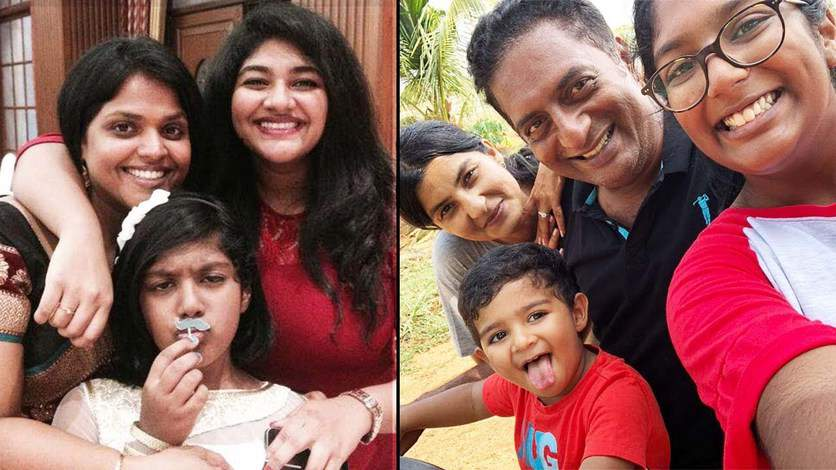 19. Prakash Raj family