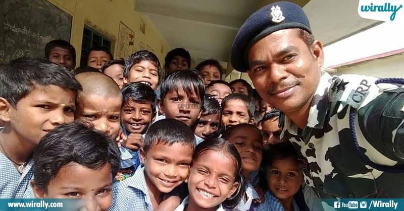 Telugu CRPF Jawan Sekhar Maraveni