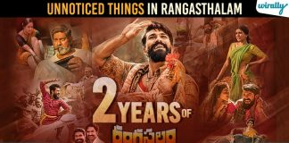 2 Years For Rangasthalam