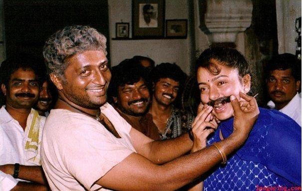 26. Prakash Raj with soundarya