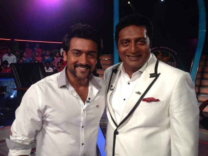 5.Prakash Raj With Surya