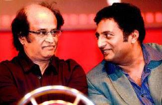 7. Prakash Raj with rajinikanth