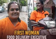 first Swiggy delivery woman Jayalakshmi