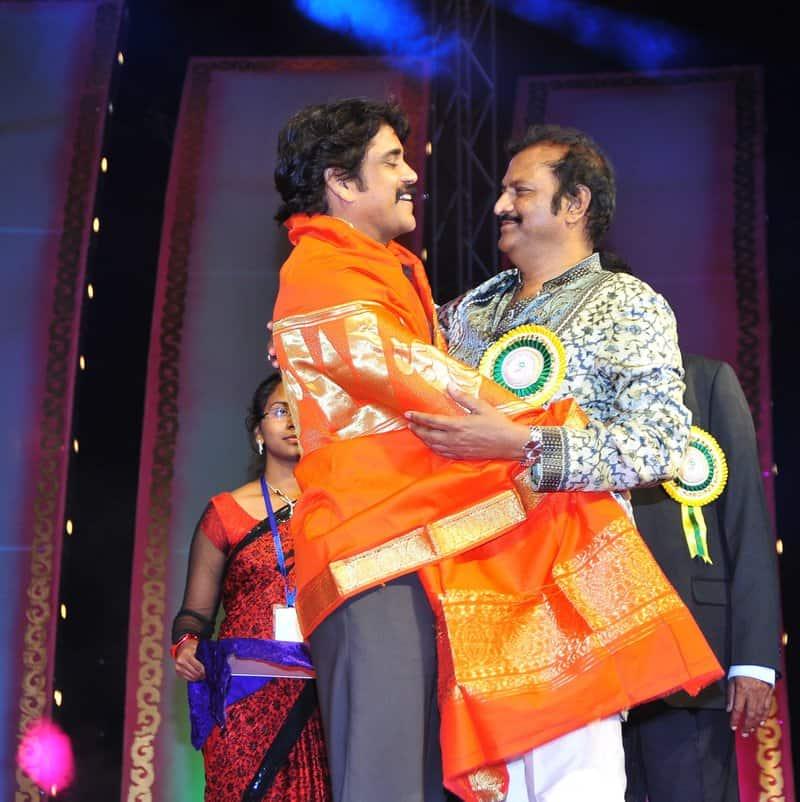 King nag with Mohan babu