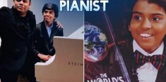 Lydian Nadhaswaram Indian pianist
