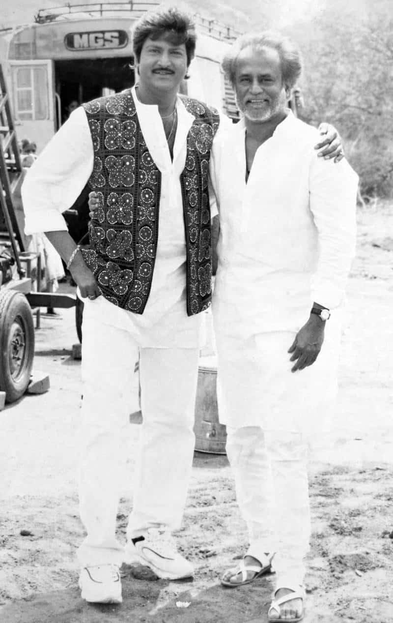Rajnikanth and Mohan babu