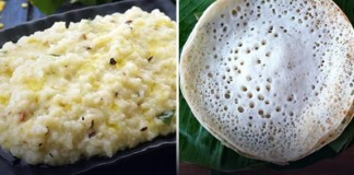 Breakfast Items Of Tamilnadu