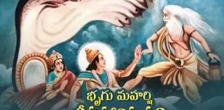 Maharishi Bhrigu and Vishnu