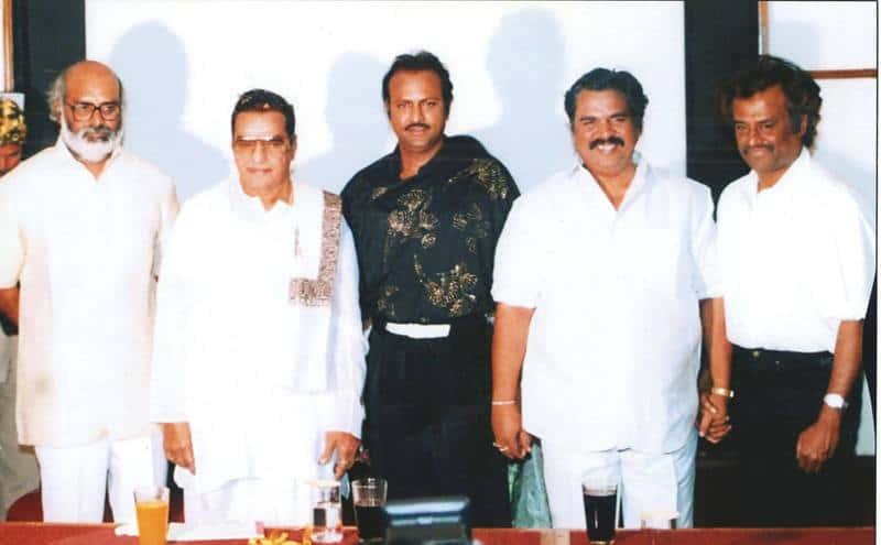 with ntr rajni and raghavendra rao