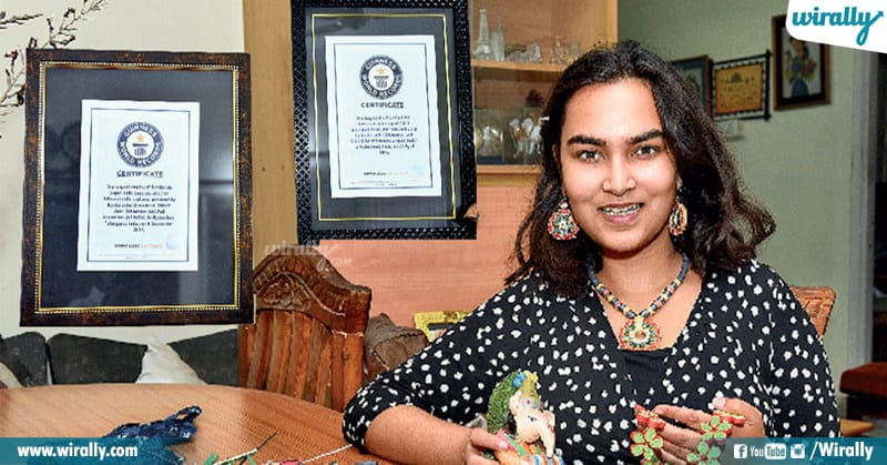 Hyderabad girl achieves sixth Guinness World Record