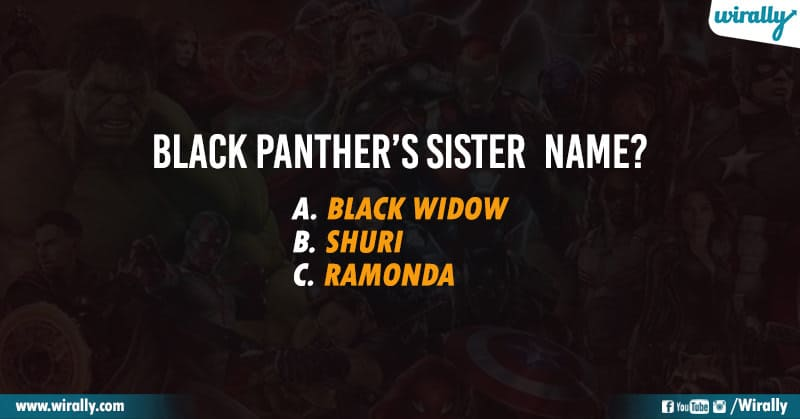 Avengers Quiz