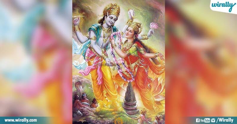 Lakshmi Devi Married Sri Mahavishnu